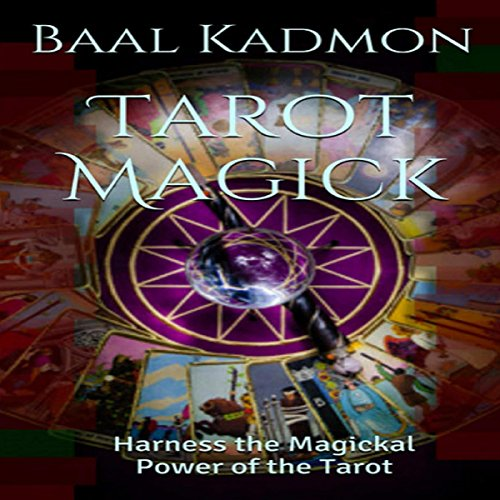 Tarot Magick audiobook cover art