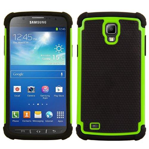 kwmobile Samsung Galaxy S4 Active i9295 Cover Ibrida - Custodia Rigida Outdoor Dual Case TPU Silicone Back Case per Samsung Galaxy S4 Active i9295