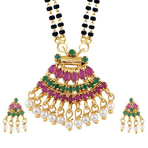 Efulgenz Gold Tone Indian Bollywood...