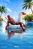 lunaprint Deadpool 2 Movie Poster 70 X 45 cm