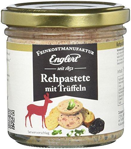 ENGLERT Rehpastete mit Trüffeln/Glas, 2er Pack (2 x 150 g)
