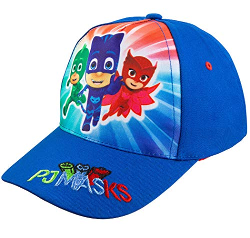 PJ Masks Boys' Blue Baseball Cap - Size Toddler Age 2-5