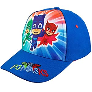 Disney PJ Masks Boys' Blue Baseball Cap – Size Toddler Age 2-5