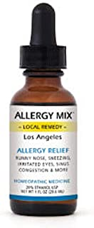 Allergy Mix Los Angeles - Drops - Homeopathic Multi-Symptom Allergy Medicine - 1 oz