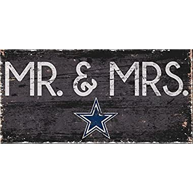 Fan Creations Dallas Cowboys Mrs Sign, Multi
