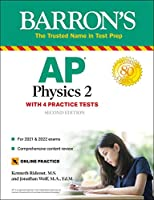 AP Physics 2: With 4 Practice Tests (Barron's Test Prep)