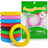 Reusable Bracelet 48 Pack, 100% Natural and Waterproof Wrist Bands for Children and Adults - [Individually Wrapped],Reusable Travel Protection Outdoor - Indoor