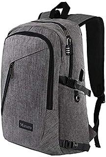 Anti Theft Business Laptop Backpack USB Charging Port Fits 15.6 inch Laptop, Slim Travel College Bookbag MacBook Computer,...