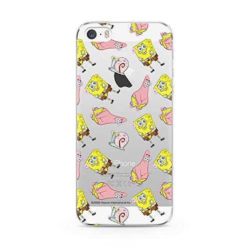 Ert Group NPCSBOB026 Custodia per Cellulare SpongeBob 001 iPhone 5/5S/SE