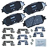 Bendix CFC906 Premium Copper Free Ceramic Brake Pad (with Installation Hardware Front)