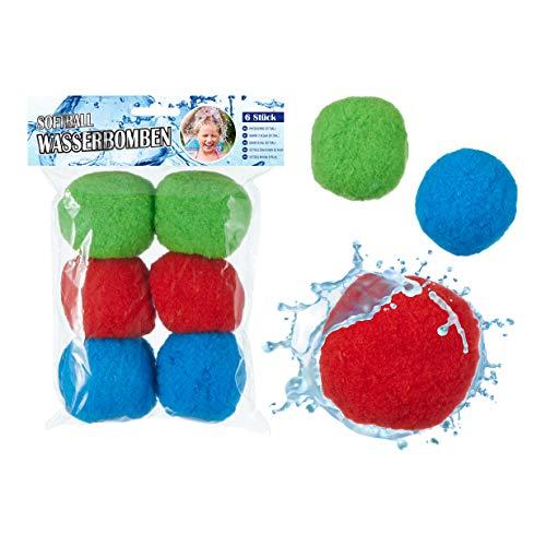 Splas Balls, Wasserbomben, Waterbombs bunt TOI (30 STK.)