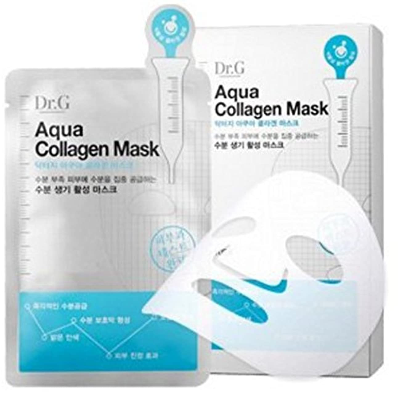 アスレチック振り返る引数Dr. G [ドクター ジー] アクア コラーゲン マスク 10枚 [並行輸入品]
