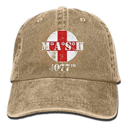 Roman Lin MASH 4077. Unisex-Baseballmütze Cowboy Hat Bill Snapback Hats