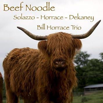 Beef Noodle (feat. Dave Solazzo & Joshua Dekaney)