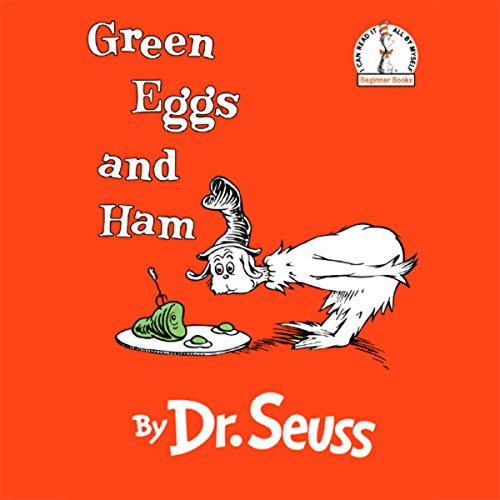 Green Eggs and Ham audiobook cover art
