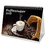Kaffeezauber DIN A5 Tischkalender 2020 Kaffee - Seelenzauber