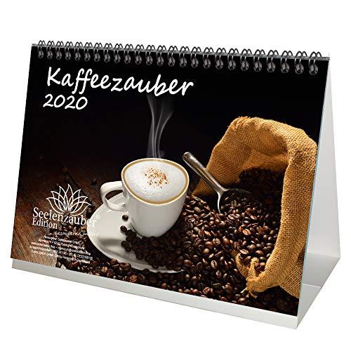 Koffiemagie DIN A5 tafelkalender 2020 koffie en extra 1 cadeaukaart - zeelmagie