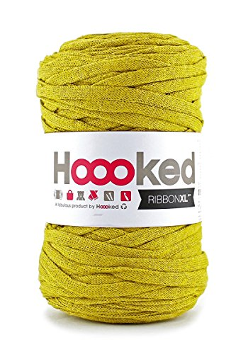 Hoooked Zpagetti Ribbon XL Bändchengarn Wahl (Curry)