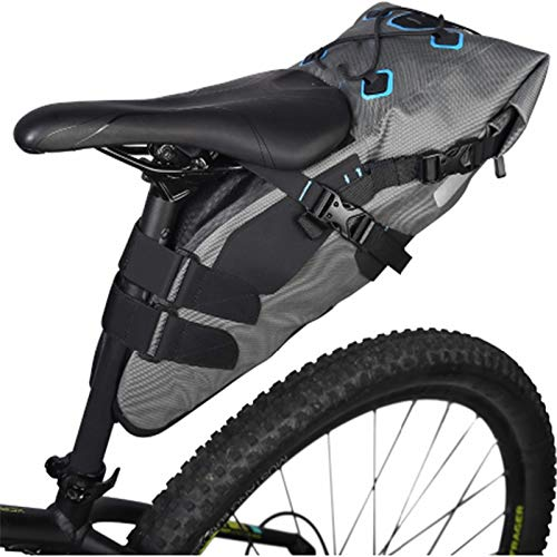 QIANMA Vélo Cyclisme Sac Attack Series 7l Waterproof Cycling Bicycle Bags Bike Tail Saddle Bags Seat Packs Storage Pouch Carrier