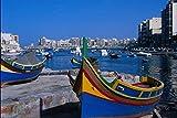 796056 View Of St Julian Malta A4 Photo Poster Print 10x8