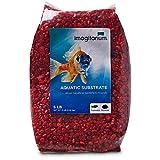 Petco Brand - Grava para acuario Imagitarium Strawberry Red, 5 libras