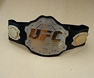 House of Highland 77 UFC Championship Belt Ultimate Fighting Belts Adult Size Real Leather
