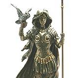 Veronese Athena Minerva - Figura de estatua de diosa romana, acabado bronce