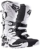 Fox Racing Comp 5 Men's Off-Road Motorcycle Boots - White/Size 10 by