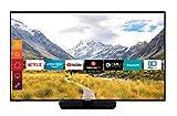 Telefunken D50U550N4CWH 127 cm (50 Zoll) Fernseher (4K Ultra HD, Triple-Tuner, Smart TV, Prime Video) schwarz