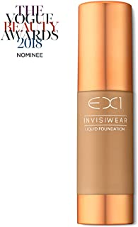 EX1 Cosmetics Invisiwear Liquid Foundation 5.0 - Oil and Fragrance Free, Dermatologically, Clinically Tested