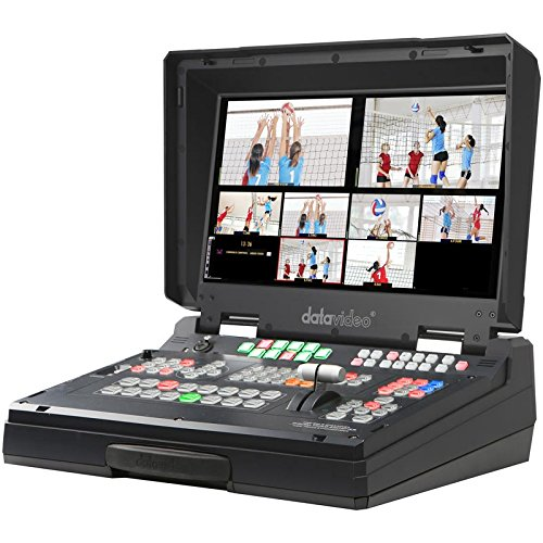 "Datavideo HS-2200 Hand Carried Mobile Studio with HD/SD-SDI & HDMI Inputs, Integrated 17.3"" Monitor, Dual PiP, 6-Input Multi-Definition Switcher"