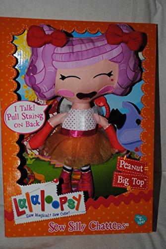 Lalaloopsy Talking Pull String Soft Doll - Peanut Big Top