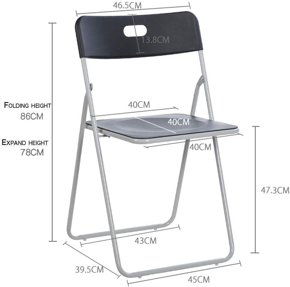 Chaise pliante chaise longue chaise de bureau maison chaise ordinateur chaise de conférence (Color : D) A