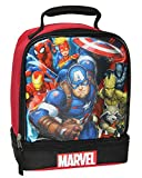 Marvel Universe Comics Avengers Captain America Dual Compartment Insulated Lunch Box