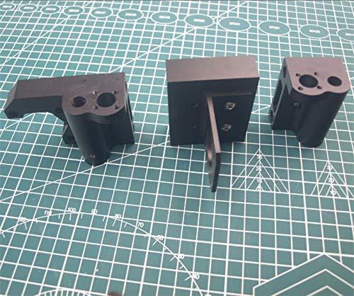 WNJ-TOOL, Stampante 1pcs Prusa I3 MK2 / Anet Clone 3D Alluminio Metal X ASSE X Idler Motor Mount Carrello X Mount/Folle Motor Mount Kit (Taglia : Anet Version)