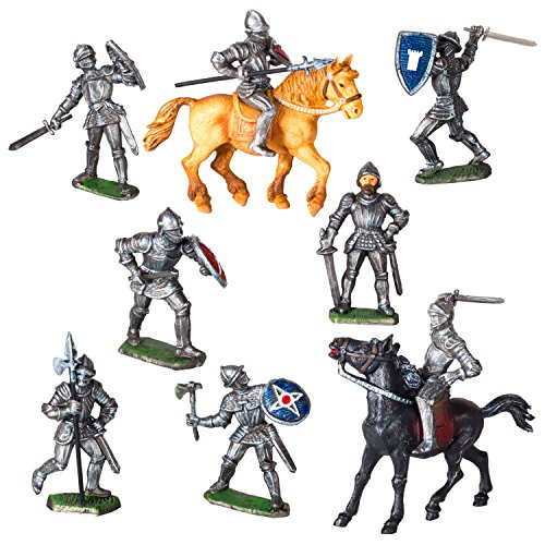 Spielfiguren Sortiment Ritter - 10 Figuren - Made IN Germany