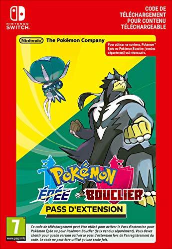 Pass d'extension pour Pokémon Épée ou Pokémon Bouclier | Nintendo Switch – Code jeu à télécharger