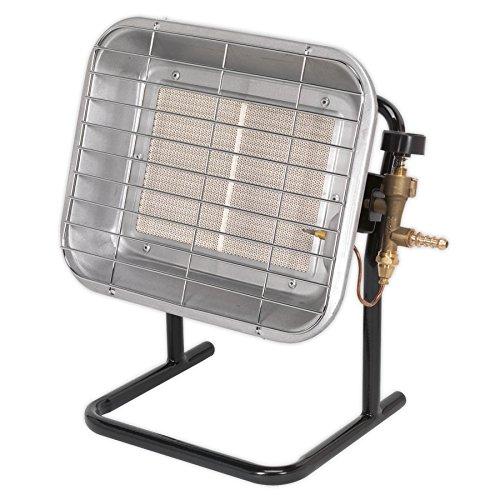 Sealey LP14 Space Warmer Propane Heater, 9200-17000BTU/hr