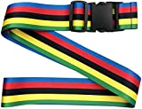 YDY 2 PCS Luggage Straps Suitcase Belts Travel Accessories Bag Straps Adjustable Suitcase Travel Belt (Multicolor)