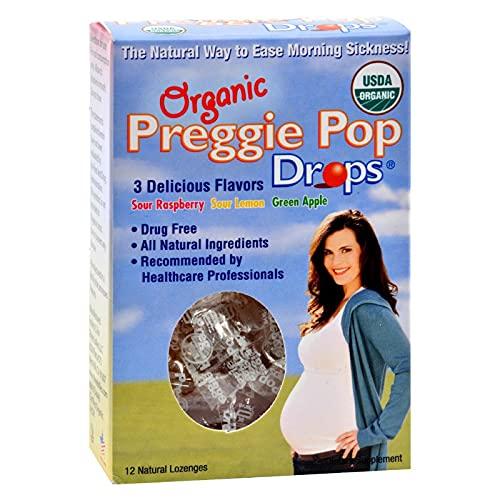 Three Lollies Organic Preggie Pop Drops - 12 Drops