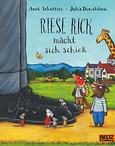 Riese Rick macht sich schick: Vierfarbiges Bilderbuch (MINIMAX)