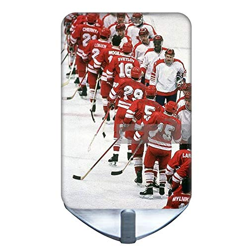 Stainless Steel Compatible with Bathroom Steel Hooks Cute for Boy Print Hockey 6 Choose Design 1-5