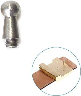 DIY Belt Buckle Screws Hook Replacement for Repair Belts Accessories (3MM, Silver)