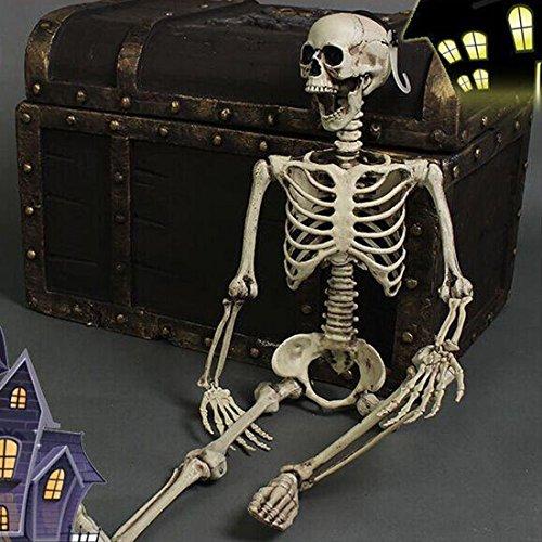 THEE Halloween Décoration Squelette Humain Horreur Fêtes