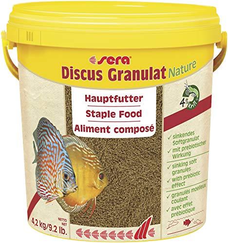 sera 00309 discus granulaat 4,2 kg (10 l) - hoofdvoering voor alle discusvissen