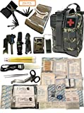 Fortis EDC Emergency First Aid Survival Kit Molle Bag Tactical IFAK for Car Travel Camping Hiking RV...