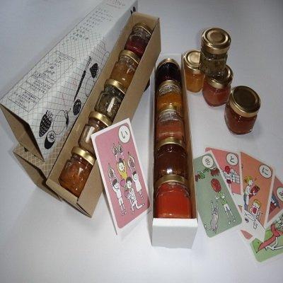 手づくりジャムアソート 香川県産ブルーベリー、いちじく、梅、金時人参などを使った無添加ジャムセット