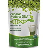 MatchaDNA Organic Matcha Green Tea Powder - 10 oz Pure USDA Certified Organic Culinary Grade Matcha (283 grams)