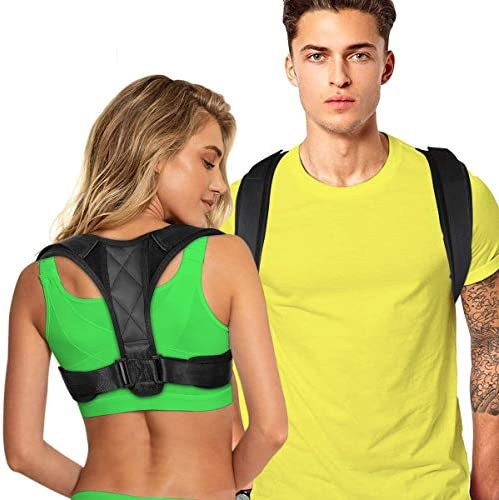 Posture Corrector for Women Men Back Brace Comfortable Posture Trainer for Spinal Alignment product image