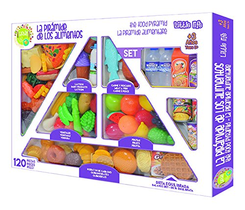 Tachan – Pyramide Lebensmittelindustrie, Set 120-teilig (CPA Toy Group 2056)